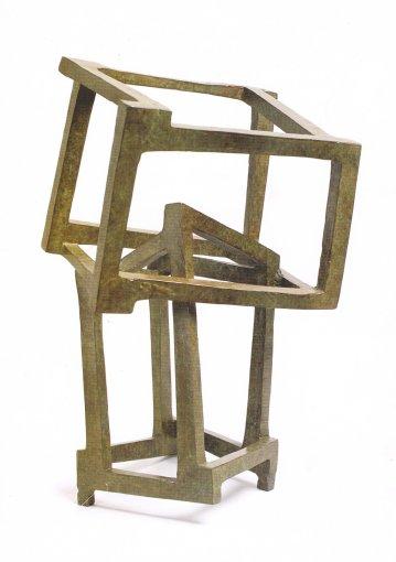 <p>Chaos 26, 2006</p> <p>Bronze</p> <p>16 x 12 x 12 in.</p>