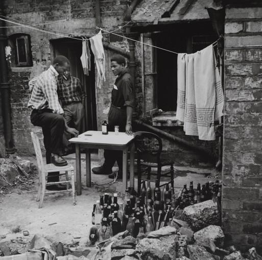 <em>Guys drinking, Finsbury Park</em>, 1958