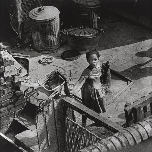 <em>Little Girl with Pram, Finsbury Park</em>, 1960