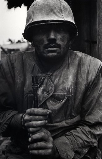 <em>Shell Shocked Marine, Vietnam, Hue</em>, 1968