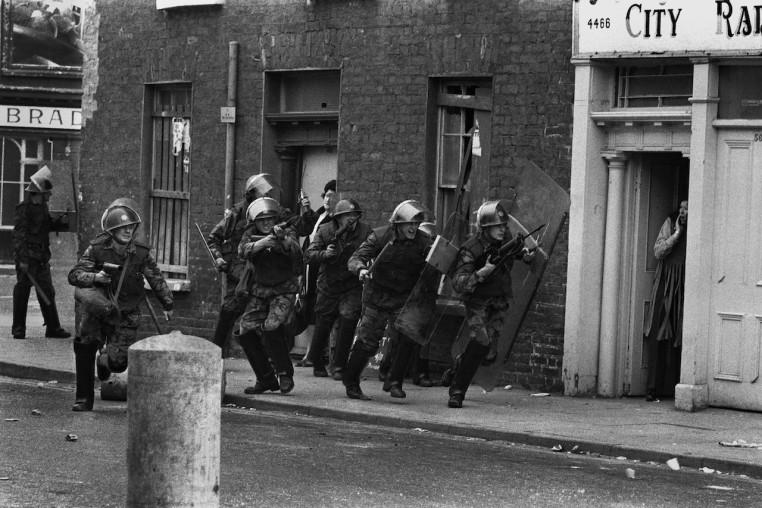 <em>The Bogside, Derry, Northern Ireland </em>, 1971
