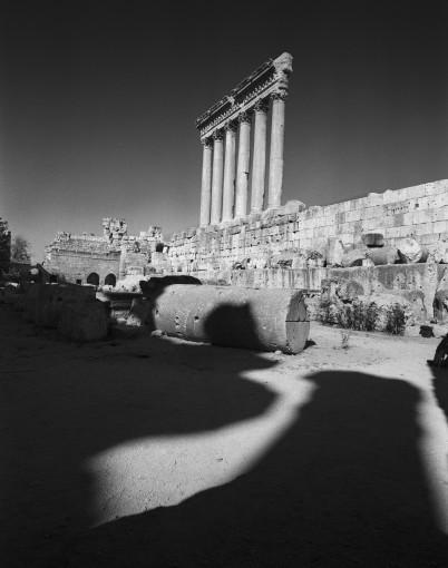 <em>The Temple of Jupiter, Baalbek, Lebanon</em>, 2008