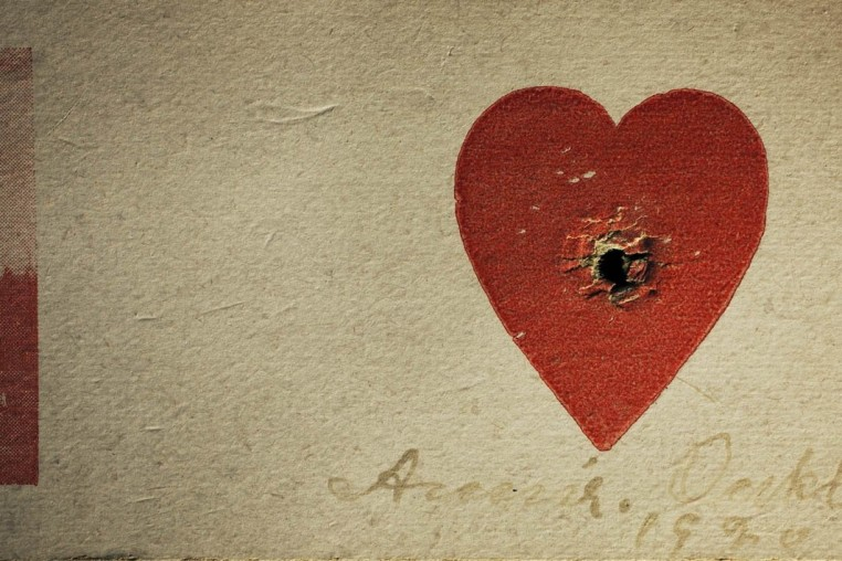 <em>Annie Oakley's Heart Target, Private Collection, Los Angeles, California</em>, 2010