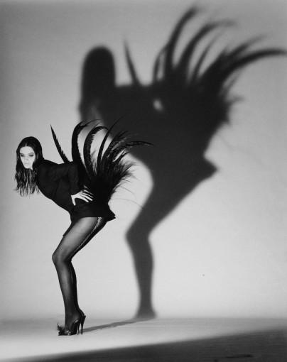 <em>Helena Christensen, Paris</em>, 1990