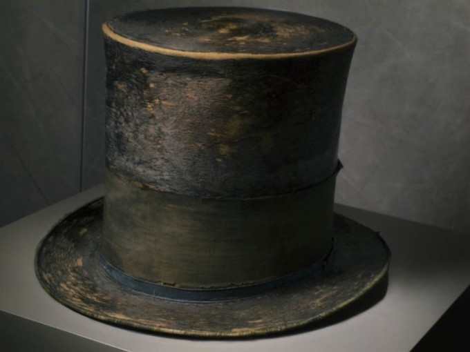"<span class=""title"">Abraham Lincoln's Hat at The Smithsonian National Museum<span class=""title_comma"">, </span></span><span class=""year"">2011</span>"