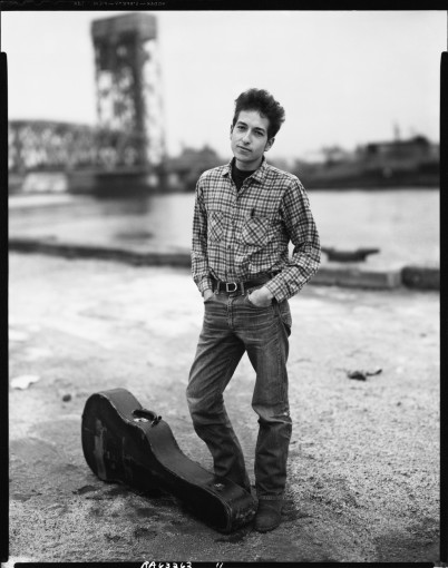 "<span class=""title"">Bob Dylan, musician, 132nd Street and FDR Drive, Harlem, November 4, 1963</span>"