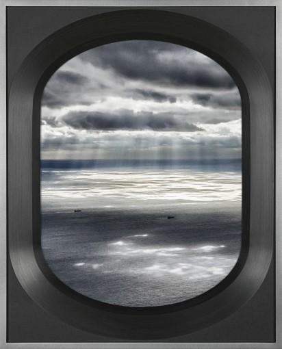 <em>LHR-JFK 11/08/2012 16:54:24 Light and shadow off Long Island, New York </em>