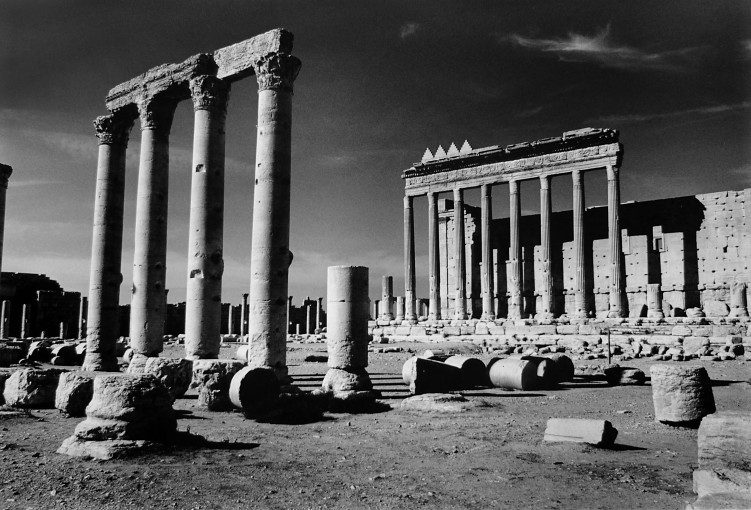 "<span class=""title"">Crow Foot Merlons Crowning the Summit of the Colonnade Around the Central Temple of Bel, Palmyra, Syria<span class=""title_comma"">, </span></span><span class=""year"">2006-2009</span>"
