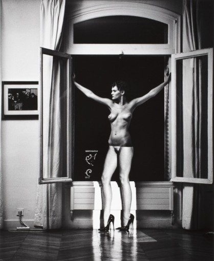 <em>Sylvia in my Studio at Night, Paris</em>, 1981