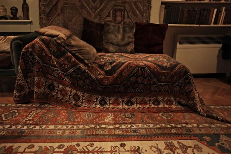 <em>Sigmund Freud's Couch, Freud Museum, 20 Maresfield Gardens, London</em>, 2009