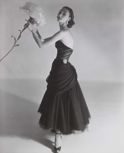 <em>Evelyn Tripp Modelling a Charles James Dress, Vogue</em>, September 1951