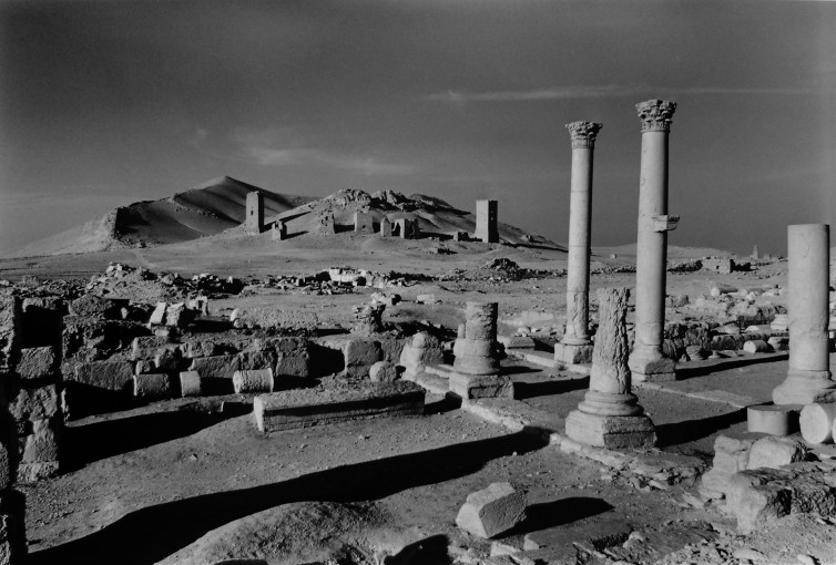 "<span class=""title"">Looking from the City Centre Towards the Tower Tombs of the City of the Dead, Palmyra, Syria<span class=""title_comma"">, </span></span><span class=""year"">2006- 2009</span>"