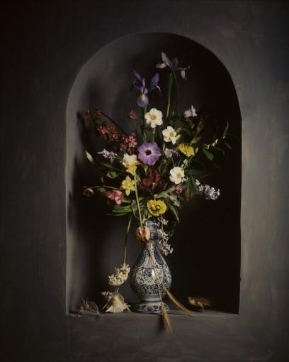 <em>Bouquet de fleurs dans une niche</em>, 2006
