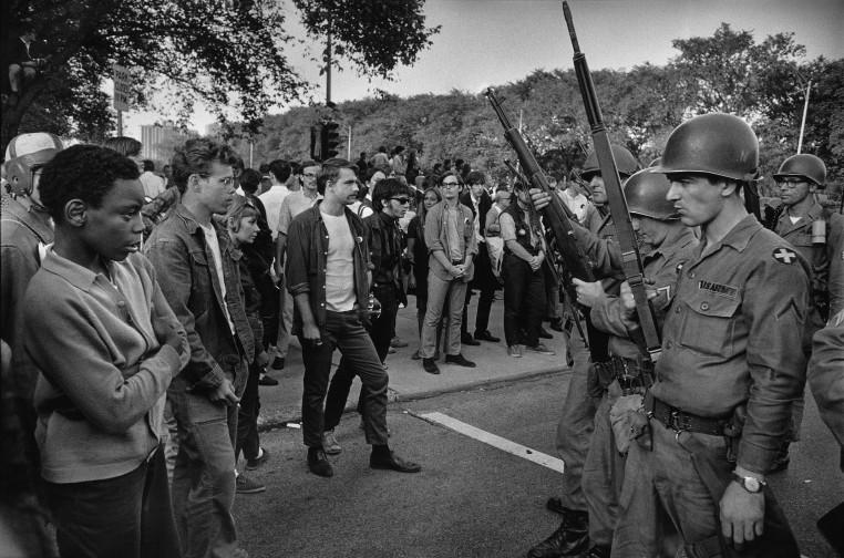 <span class=&#34;title&#34;>Manifestation contre la guerre de Viet Nam, Grant Park, Chicago, Illinois<span class=&#34;title_comma&#34;>, </span></span><span class=&#34;year&#34;>1968</span>