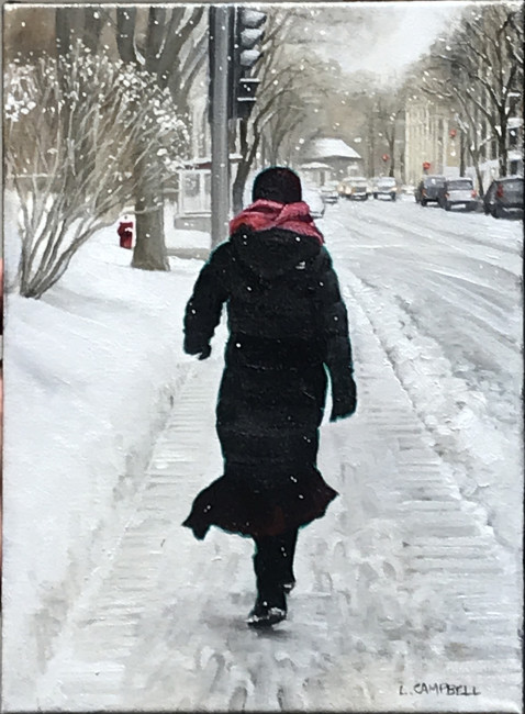 <span class=%22title%22>Sherbrooke St. West in Winter (Woman with a Pink Scarf)<span class=%22title_comma%22>, </span></span><span class=%22year%22>2018</span>
