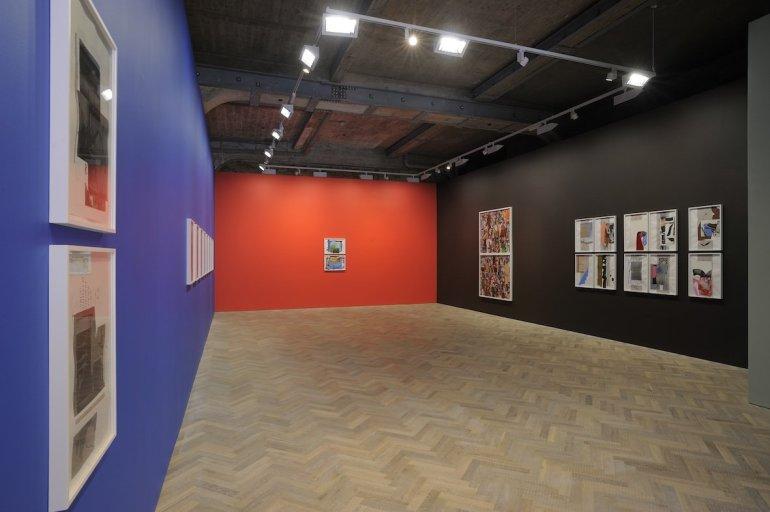 <p>Installation view, Thomas Dane Gallery</p>