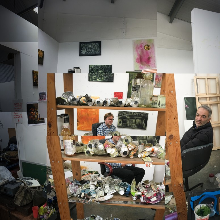 Studio visit with Archie Franks