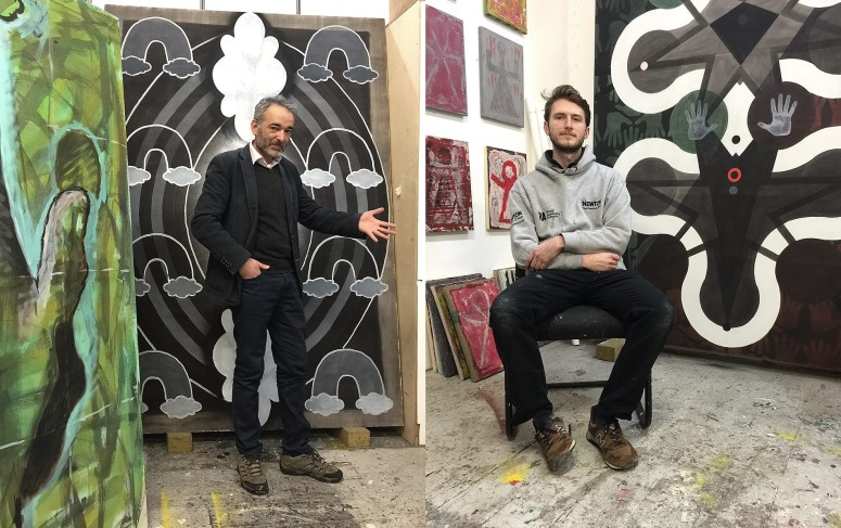 Studio visit with Jonathan Kelly