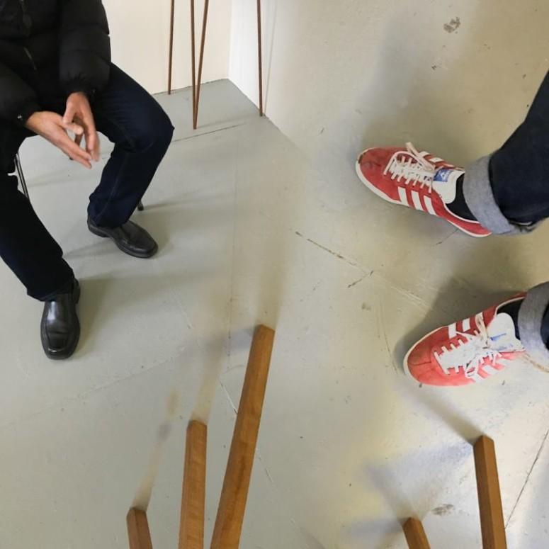 Studio visit with Gary Colclough