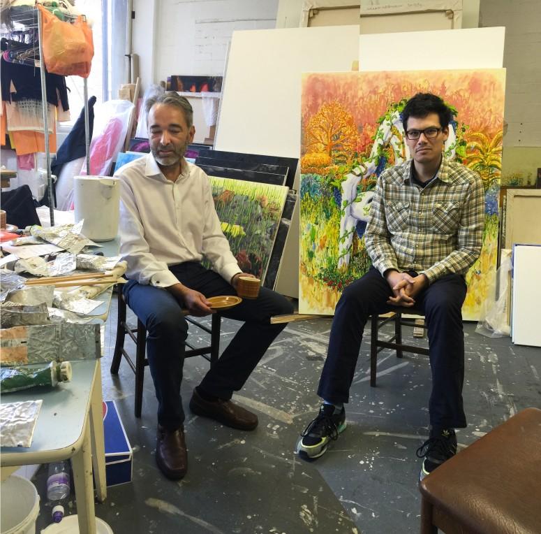 Studio visit with Willem Weismann