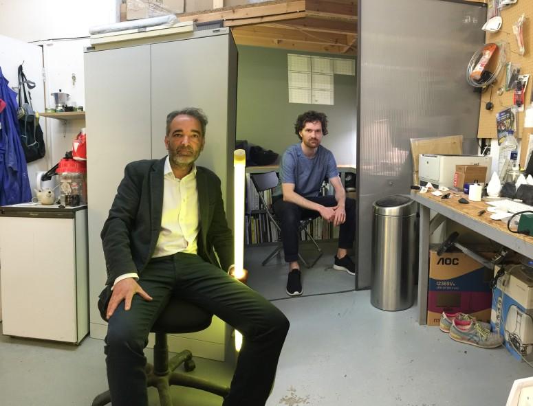 Studio visit with Dominic Hawgood