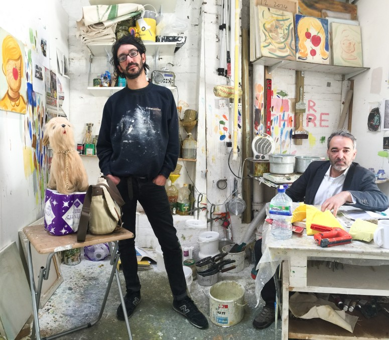 Studio visit with Grant Foster