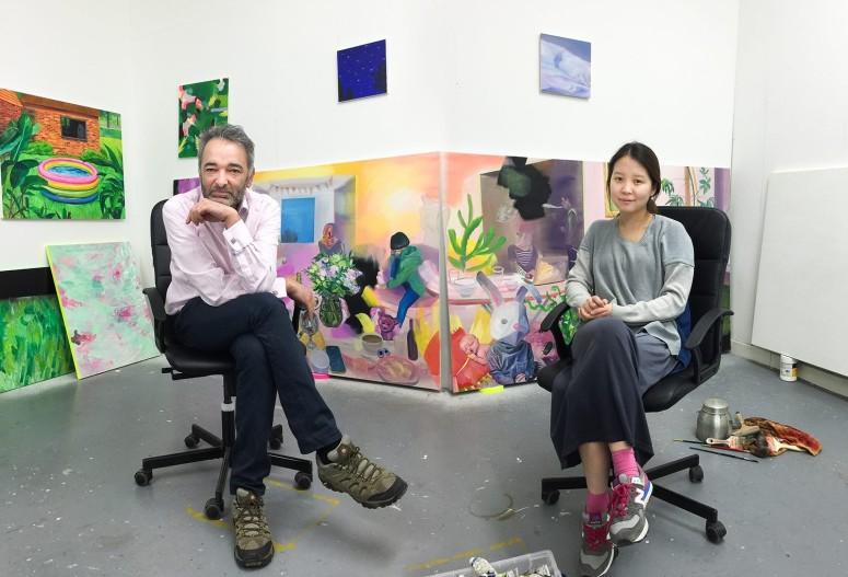 Studio visit with Jaeyeon Yoo
