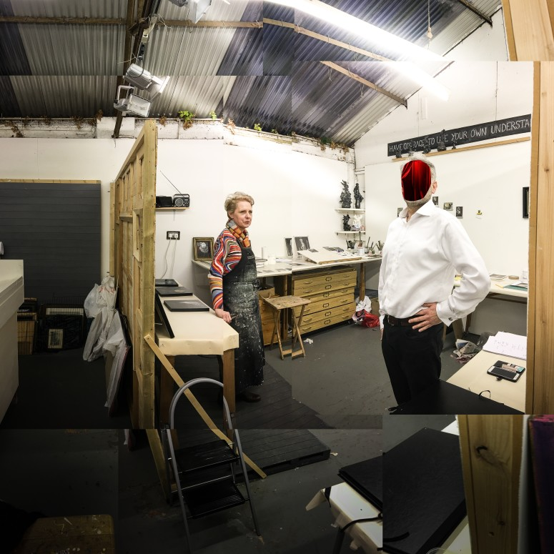 Studio visit with Sasha Bowles