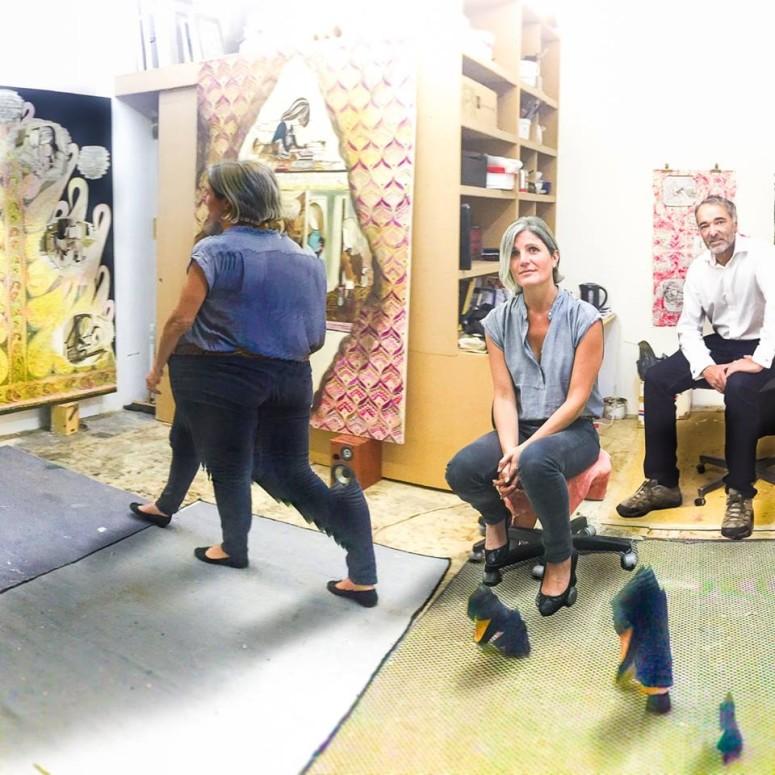 Studio visit with Emma Talbot