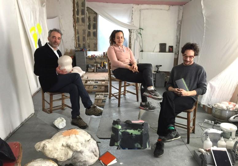 Studio Visit with Virgile Ittah and Kai Yoda