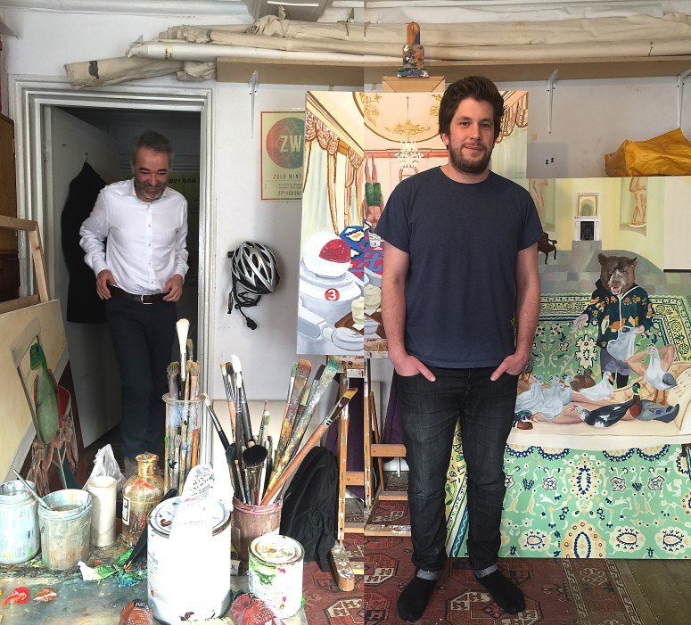 Studio visit with Mark Nader