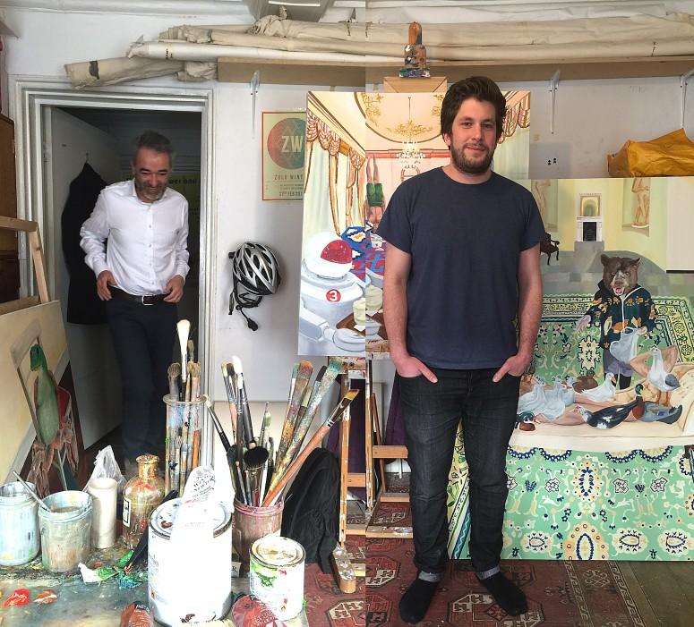 Studio visit with Mark Nader