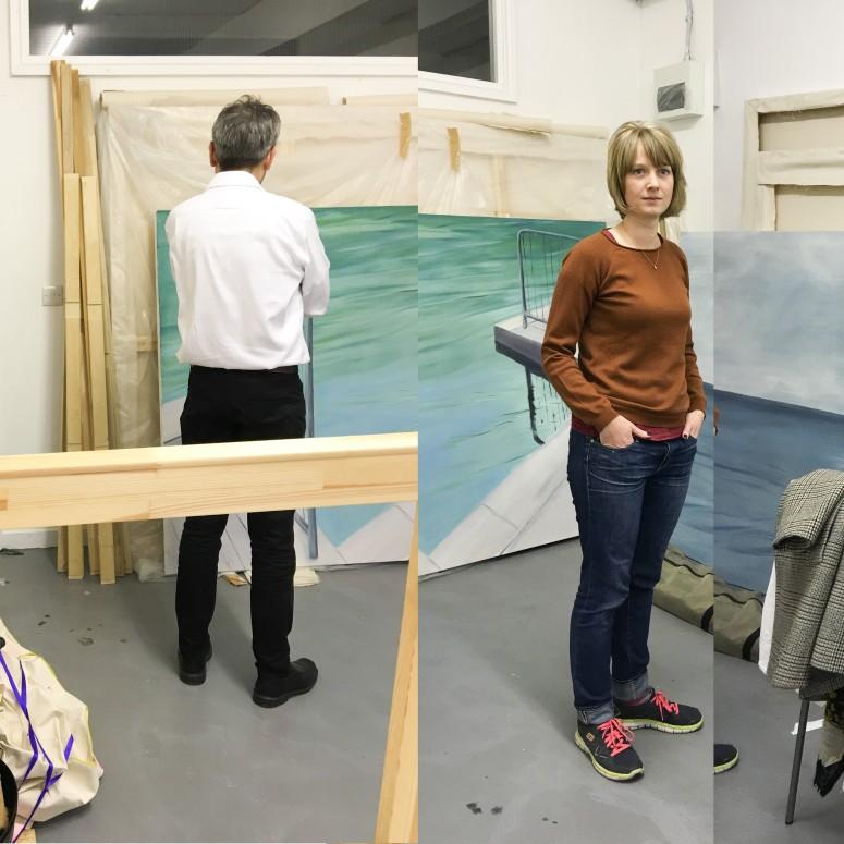 Studio visit with Aglae Bassens