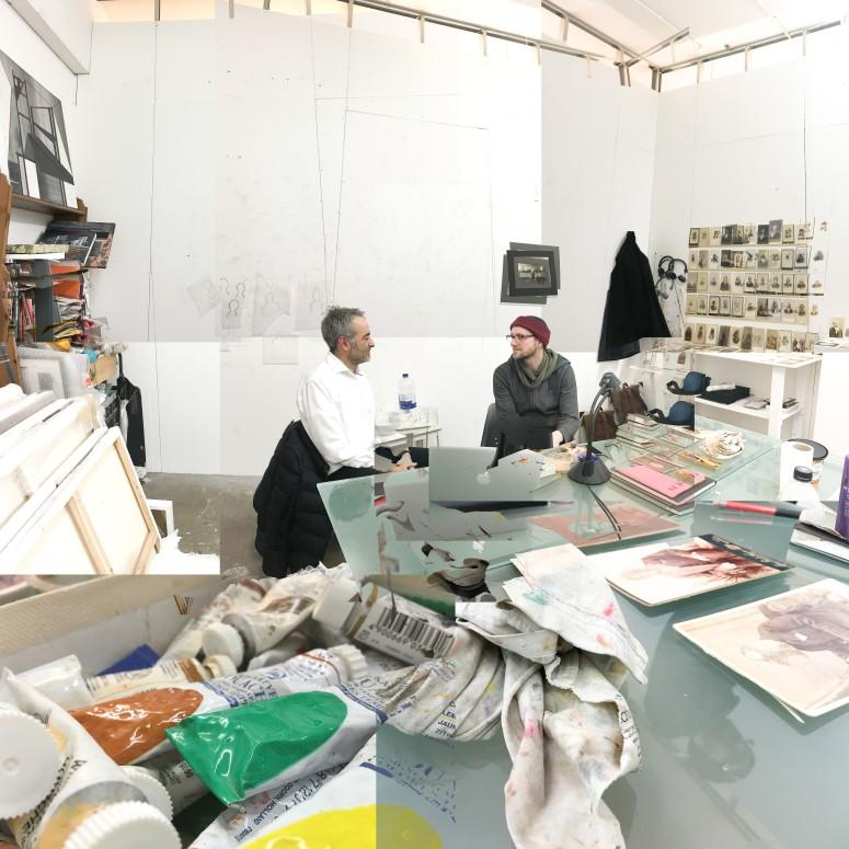 Studio visit with Tom Butler