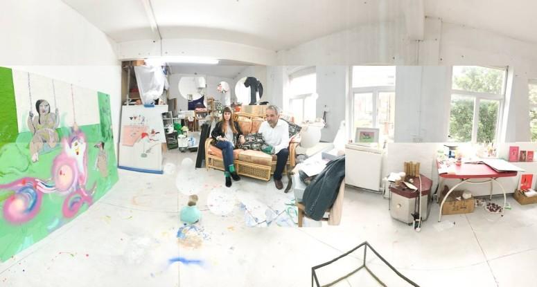 Studio visit with Kate Lyddon