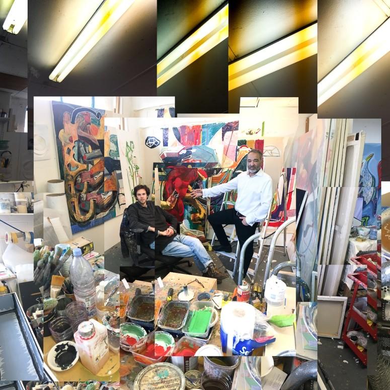 Studio visit with Laurence Owen