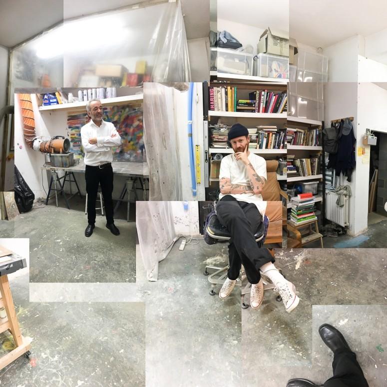 Studio visit with Rhys Coren