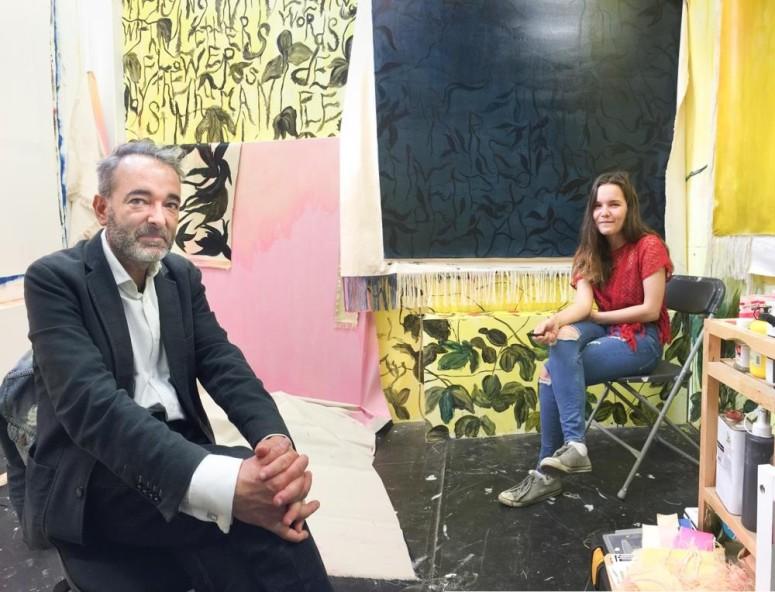 Studio visit with Mariya Zherdeva