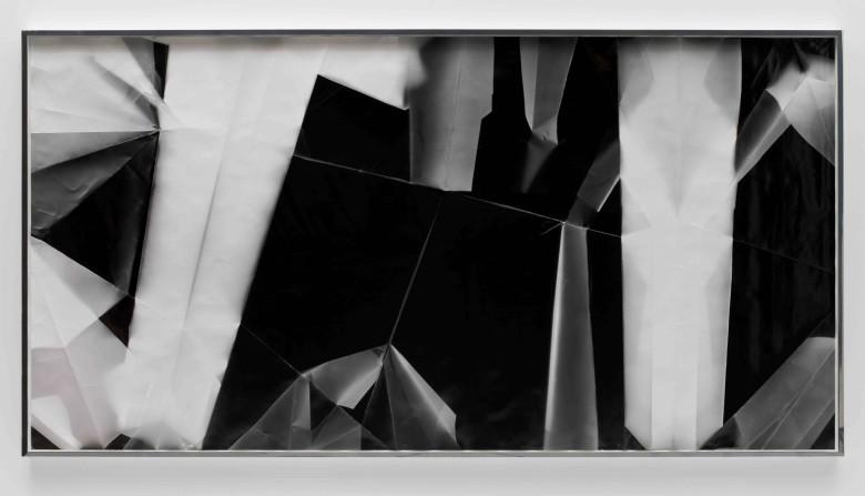 Fold (45º/135º/225º/315º directional light sources), December 31st 2012, Los Angeles, California, Ilford Multigrade IV MGF.1K