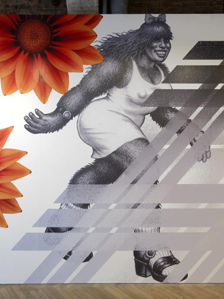 Slanted Tartan Wallpaper