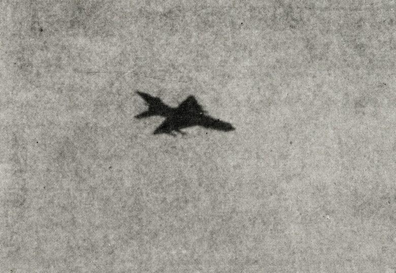 Untitled (Jet Fighter #6)
