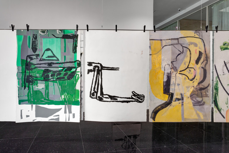 Amy Sillman: The Nervous System
