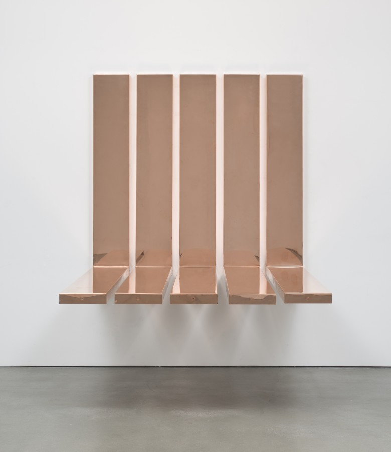 "Copper Surrogate (90˚ Bend, 60"" Bisection, 1 Section: *DATES OF INSTALL/DEINSTALL*, )"