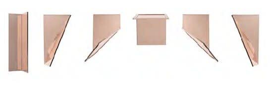 1:4 Scale Copper Surrogates (50/50 Bends, 0o/90o/90o, 63.43o/26.57o/90o, 45o/45o/90o, 90o/0o/90o, 45o/45o/90o, 26.57o/63.43o/90o: 2nd - 3rd December, 2013 / 9th December, Miami, Florida, USA)