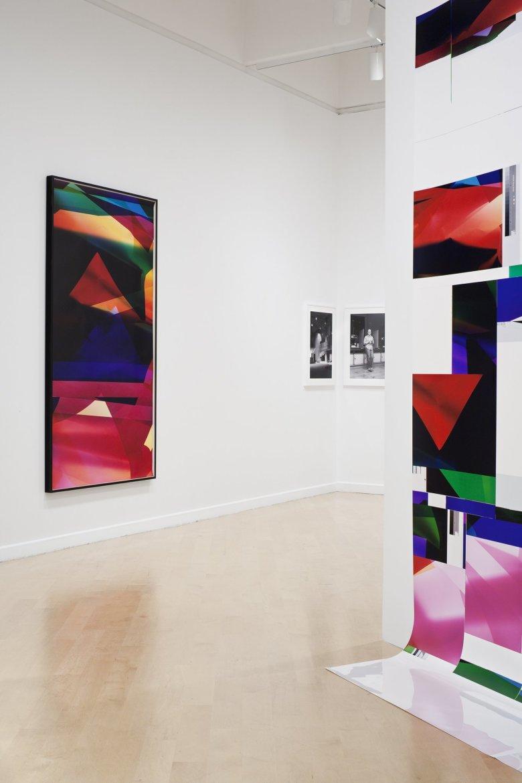 Walead Beshty: Legibility on Colour Backgrounds