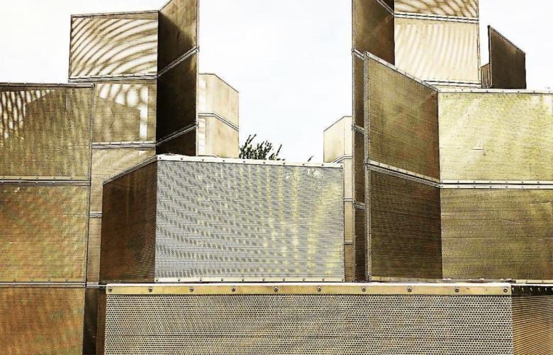 Optic Labyrinth Arrangment by Conrad Shawcross, Victoria Miro, Frieze Sculpture Park 2018