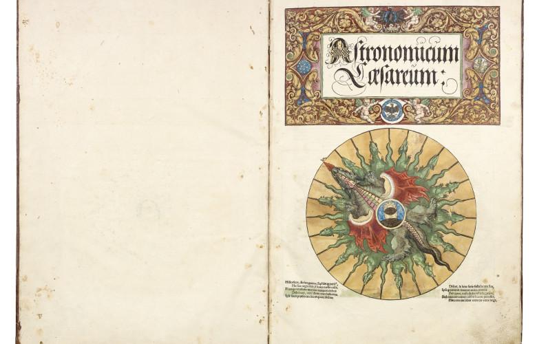 Daniel Crouch Rare Books, Apianus, Petrus Astronomicum Caesareum. Ingolstadt, Peter Apian, 1540.