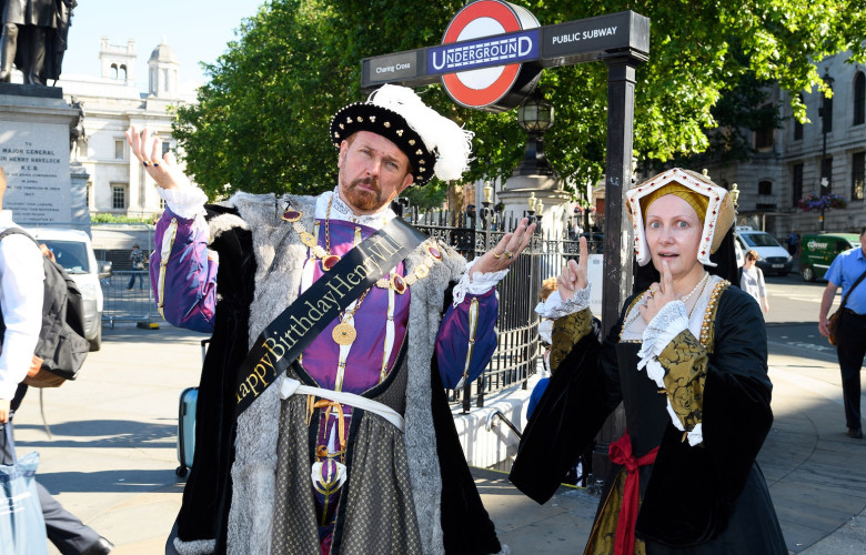 Top 10 moments of Henry VIII's birthday
