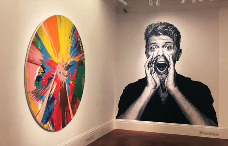 Sotheby's are offering a preview of the Bowie collection in an exhibition at New Bond Street