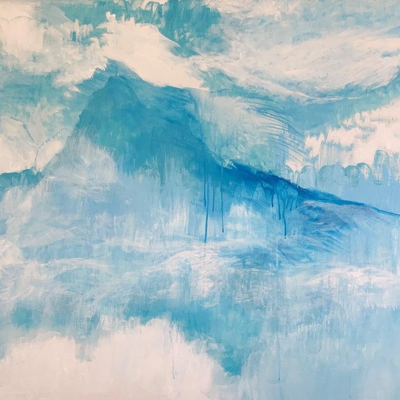 Camilla Webster, Kintsugi Cool Blue, 2019